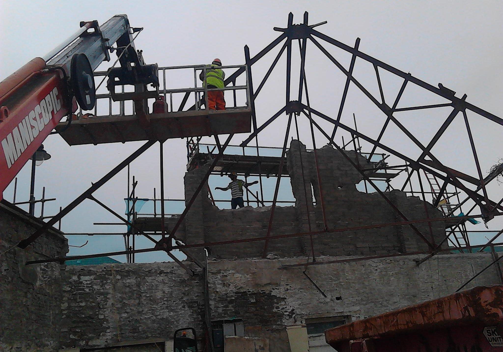 Demolition In Bristol